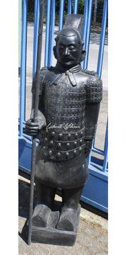 China Krieger Soldat Deko Skulptur