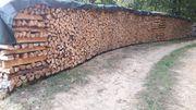 Holz Brennholz Feuerholz Kaminholz