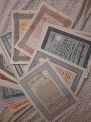 Wertpapiere sammlung