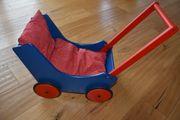 Haba Puppenwagen Lauflernhilfe Holz