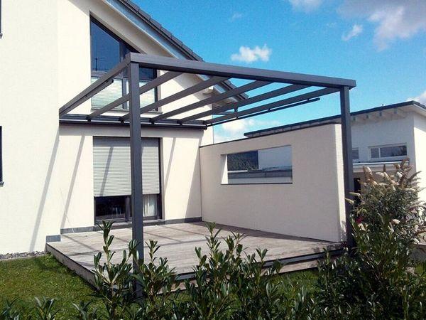 Häufig Alu Terrassenüberdachung, Carport, Markisen, Sicht u. Sonnenschutz FN18