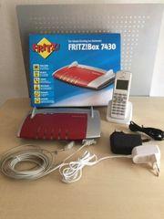 Fritz Box 7430 mit Fritz