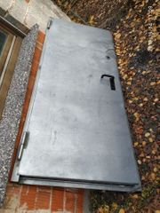 verzinkte Stahltür 875 x 2125
