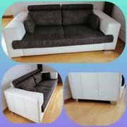 Couch Sofa 3- und 2-Sitzer