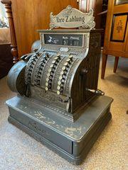 National Kasse Registrierkasse original Antik