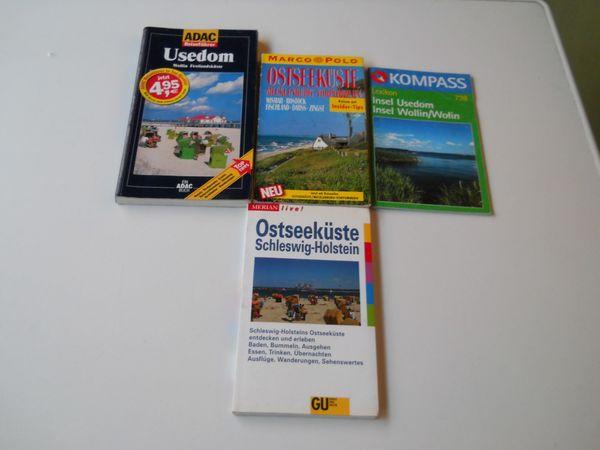 4 Bücher über Ostseeküste und