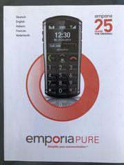 Seniorenhandy Emporia Pure zu verkaufen