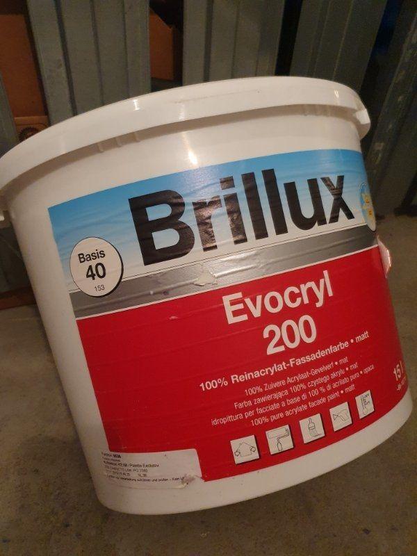 Brillux Fassadenfarbe Matt Evocryl 200