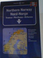 Nord-Norwegen Straßenkarte