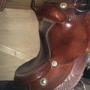 Westernsattel für stämmigere Pferde Ponys