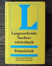 Taschenwörterbuch Französisch Langenscheidts Wörterbuch
