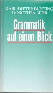 Grammatik auf einen Blick Schreibkunde