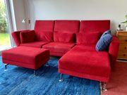 Brühl-Couch hochwertig flexibel günstig abzugeben