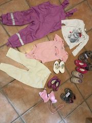 Verkaufe Kleidung Schuhe Regenhose Größe