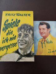 Fritz Walter Buch Spiele die