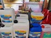 Diverse Spülmittel für Gastronomiespülmaschinen