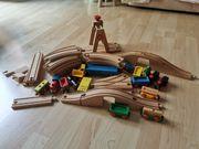 Eichhorn Holzeisenbahn 64 Teile