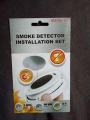 Magnethalter für Rauchmelder Neu ovp
