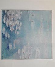 Schöner Kunstdruck von Claude-Monet - Seerosen