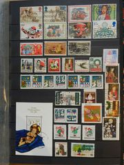 Briefmarken Weihnachten Christmas 7 Lot