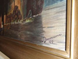 Bild 4 - Kopie nach Arnold Böcklin Öl - Bad Dürkheim