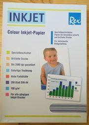 Colour Inkjet Papier neu