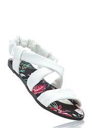 Damen Sandalette von bpc weiß -