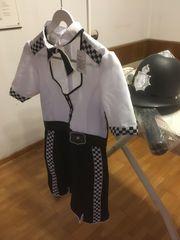 Faschingskostüm Police-Officer für Damen Gr