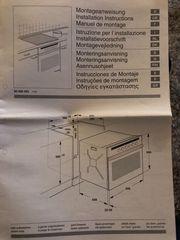 Elektroherd Backofen mit Cerankochfeld