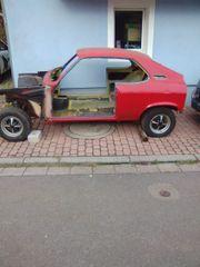 Opel Manta A Karosserie