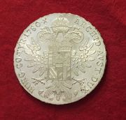 Silbermünze Maria Theresien Taler 1780