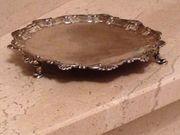 Silber - Tablett Jahrgang 1759 Antiquität