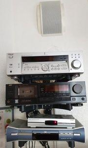 Stereoanlage Hifi Anlage Verstärker Tapedeck