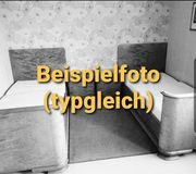 massives Bett aus den 60ern