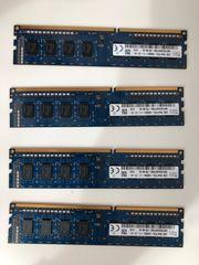4x 2GB 1Rx8 PC3-12800U-11-12-A1