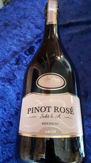 5 Flaschen Sekt Rose 0