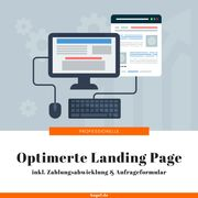 Landing Page Erstellung 1 Seite