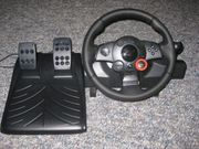 PC Lenkrad mit Pedale Drift