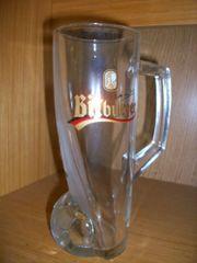 Bitburger Bier Glas GLASKRUG Fankrug