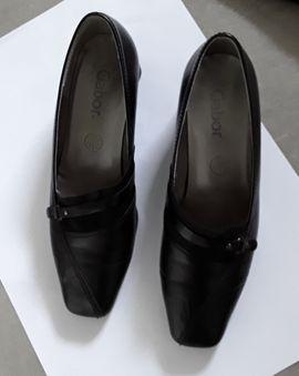 Schuhe, Stiefel - Gabor Leder Pumps Gr 5