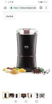 KYG Kaffeemühle 300W Elektrische Kaffeemühle