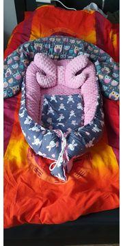 Babynest mit Stillkissen