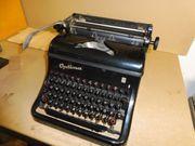 Schreibmaschine Optima M10