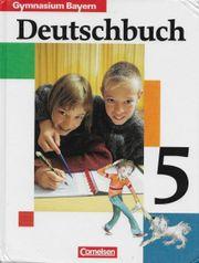Deutschbuch 5 von Gymnasium Bayern