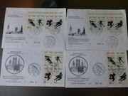 Ersttagsbriefe Olympia Marken 1971