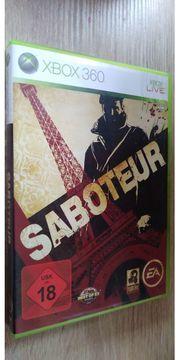 Saboteur X Box 360