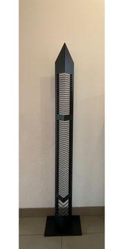 CD-Ständer Metall schwarz zu verschenken