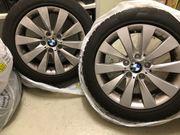 4 BMW Winterkompletträder V-Speiche 413