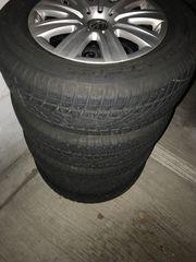 Vier Winterreifen Dunlop SP Winter