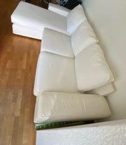 Sofa mit recamiere
